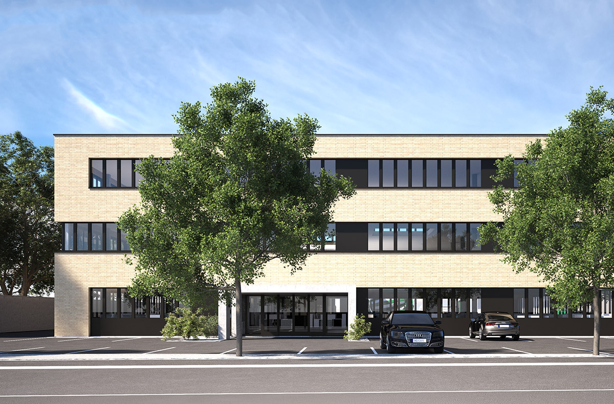 Bild Betriebsgebäude Gebr. Hilti AG