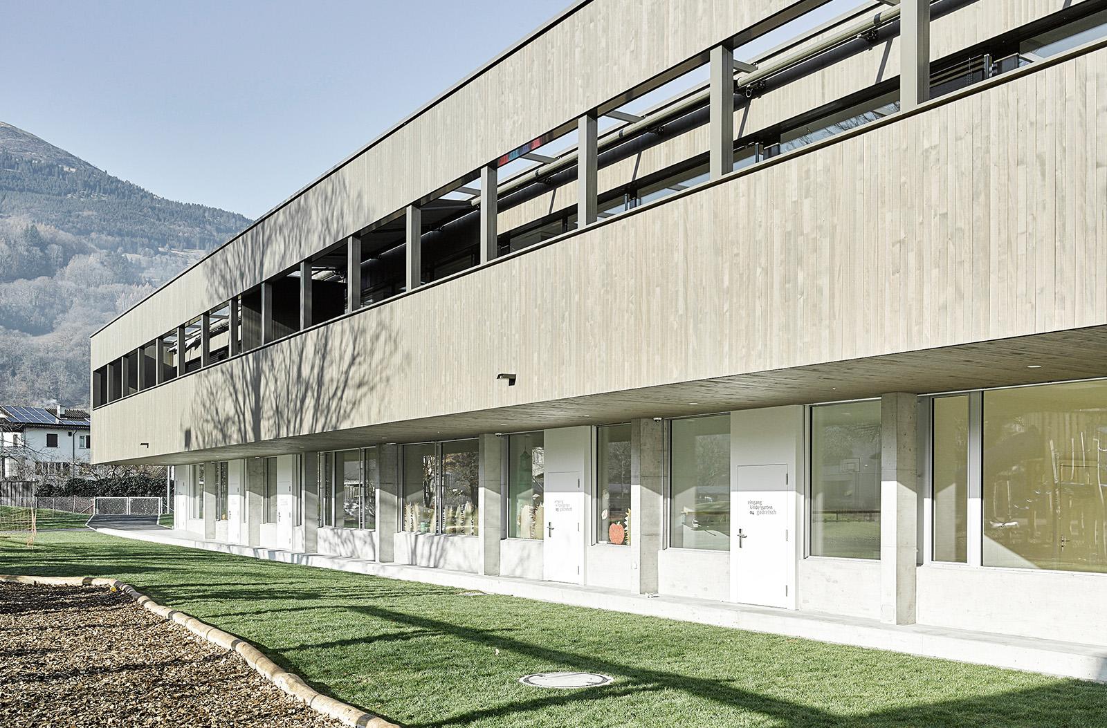 Bild Schulhaus Gadretsch